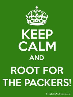 Root for the Packers