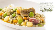 En La Pondala ya disponemos de nuestra #menestra de temporada. Se elabora con productos de la zona de #Gijón entre los meses de abril a julio aproximadamente. ¡Sólo por encargo! #lapondala #verduras #cocina #restaurante  #asturias #gastronomia http://www.lapondala.com/blog/articulo/13/da-comienzo-en-la-pondala-la-temporada-de-la-menestra