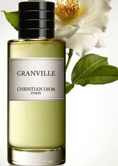 Unusual for a women's fragrance, Dior's Granville is aromatic, sharp and crisp; the smell of wind and turbulent nature of the Normandian town where Christian Dior spent his childhood. It contains notes of mandarin, lemon, thyme, rosemary, pine needles, black pepper, sandalwood and gorse.