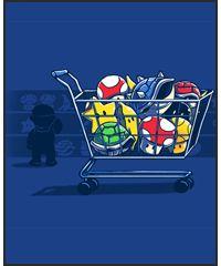 Super Mario items