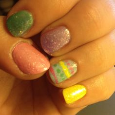 My Easter nails :)