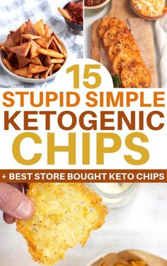 Best keto chips to snack on for all keto dieters. These low carb chips recipes will help you curb your snack cravings while being totally keto-friendly. Find your new favorite keto chip recipe… Healthy Low Carb Recipes, Ketogenic Recipes, Low Carb Keto, Keto Recipes, Ketogenic Diet, Protein Recipes, Healthy Eats, Vegetarian Recipes, Keto Friendly Chips