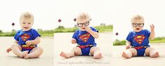 {captured by} heidi superman baby one year old pictures Superman Baby, Picture Source, Picture Ideas, Photo Ideas, Old Pictures, Old Photos, First Birthday Pictures, Babies First Year, One Year Old
