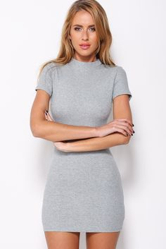 Blurred Lines Dress, Grey, $65 + Free express shipping http://www.hellomollyfashion.com/blurred-lines-dress-grey.html