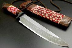 Grandma Japanese style knife Takeshi Saji sal tree 210