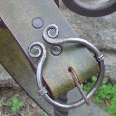 Blacksmith buckle belt