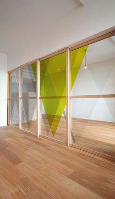 Tektura - Pinnacle window film by Jonnie Lawes www.bluukbob.blogspot.com No Place Like HEIMA