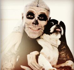 Tattoo For Guys Skull Rick Genest 42 Ideas For 2019 Rick Genest, Funny Dogs, Funny Animals, Jesse Pinkman, Kit Harrington, Funny Dog Pictures, Cover Tattoo, Canadian Artists, Favim