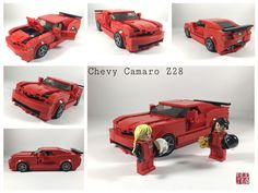 Chevy Camaro Z28 - my version of the speed champions set   by ericteo_98