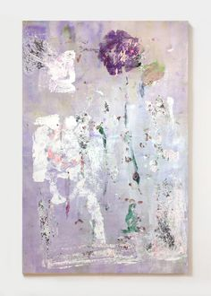 Leif Ritchey, Jacaranda Street, 2015, acrylic on canvas, 232 x 153,5 cm http://www.lucegallery.com/ http://www.ltdlosangeles.com/ http://www.thejournalinc.com/ http://www.martosgallery.com/