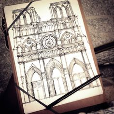 1000 images about cathedral tattoo on pinterest for Notre dame tattoo