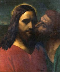 Constantin Meunier, The Kiss of Judas c. 1860s. The Royal Collection, Brussels