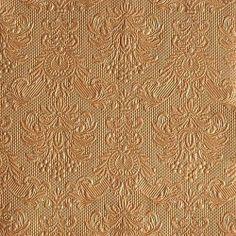 15er Pack Servietten Elegance bronze 33 x 33 cm Bild 1