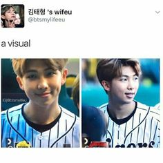 "2,230 Likes, 16 Comments - relaTAEble memes here| Zoey (@bts_memes__) on Instagram: ""I want my dimple to be like Namjoon's :') #Namjoonday ©@btsmylifeu"""