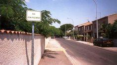Rue Jean Piglowski à Narbonne (Aude, France)