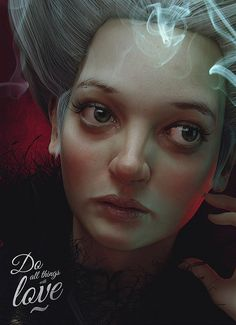 Pawel Rebisz has used his talent in digital art to create these realistic digital art characters, you can see every tiny detail from the pores on the face to each strand of hair. Pawel's talents don't just stop at digital art Digital Portrait, Digital Art, Digital Paintings, Cg Art, Art 3d, Computer Art, Model Face, Woman Face, Amazing Art