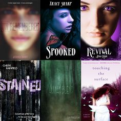 Win signed copies of: Unremembered by Jessica Brody Spooked by Tracy Sharp Revival by Jena Leigh Stained by Cheryl Rainfield Undeadly by Michele Vail all 3 books of the Blend Trilogy by Lisa Pescatore, and Touching the Surface by Kimberly Sabatini http://teamnerdreviews.blogspot.com/2013/07/i-heart-ya-july-15-august-2-2013.html