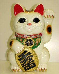 """Maneki Neko cats(Japanese Bobtails)-have a wide vocal range,& are known as the """"Singing Cat""""!-Most American """"Hello Kitty """"fans never know she's a Japanese Bobtail kitty!"""