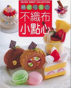 Handmade Felt Sweets Japanese Craft Book In by CollectingLife, $19.00