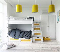 Jurnal de design interior: Galben și turcoaz într-un apartament de 70 m² din Minsk, Belarus