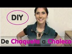 DIY de Chaqueta a Chaleco - YouTube
