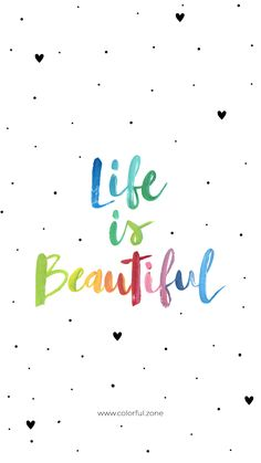 Quotations luck - life is beautiful. Quotations luck - life is beautiful. Quotations luck - life is Cute Quotes, Happy Quotes, Words Quotes, Positive Quotes, Best Quotes, Motivational Quotes, Inspirational Quotes, Sayings, Wallpaper Quotes