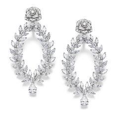 Piaget diamond earrings