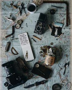 Immagine di travel, map, and vintage
