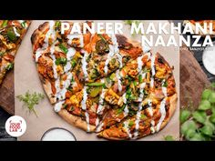 Paneer Makhani Naanza Recipe | Naan Pizza | Chef Sanjyot Keer - YouTube Paneer Pizza, Naan Pizza, Indian Snacks, Indian Food Recipes, Easy White Bread Recipe, Paneer Makhani, Bread Recipes, Cooking Recipes, Pizza Chef
