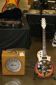 National Reso=Phonic Guitars at 2013 Central Coast Guitar Show