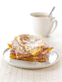 Doughnut French Toast. I am so there with coffee and a tall glass of cold milk.