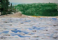 X Rock Portage Bloodvein River