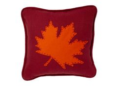 Recreate the pillow you see on the cover of our November issue! #webexclusive #hgtvmagazine http://www.hgtv.com/design/make-and-celebrate/handmade/how-to-fall-leaf-pillow?soc=pinterest
