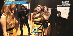 Taehyung copying Tiffany! lol