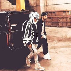 Throwback me and @nickdemoura by justinbieber