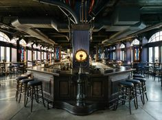 Take a look inside the Dead Rabbit crew's Pier A Harbor House, opening tonight