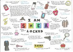 Sherlock quote mind map