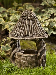 Gnome Wishing Well, every gnome or fairy garden needs one!