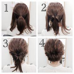 Coiffures Faciles et Pratiques en moins de 5 Minutes Pour Cheveux Courts et Mi-longs | Coiffure simple et facile