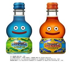 Awesome...Dragon Quest Slime drinks?