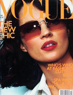 Kate Moss / Vogue cover / February 2000