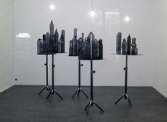 """""""Elena El Asmar, L'esercizio del lontano, a cura di Pietro Gaglianò, SRISA Gallery of Contemporary Art – a (FI)."""