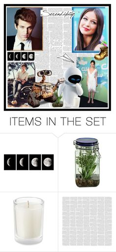 """""""My dreamcast: Keegan Allen and Melissa Benoist as Wall-e and Eve."""" by gema-z ❤ liked on Polyvore featuring art"""
