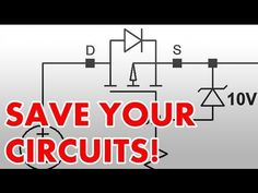 ▶ How to protect circuits from reversed voltage polarity! - YouTube
