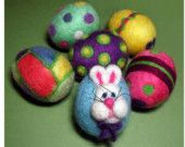 needle felted ball ornaments - Bing Images