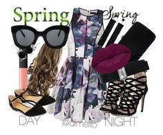 """""""SPRING DAY TO NIGHT 2016"""" by dimelilo on Polyvore featuring Ally Fashion, Sergio Rossi, Tom Ford, NARS Cosmetics, Accessorize, CÉLINE, Bling Jewelry, Lanvin and Winky Lux"""