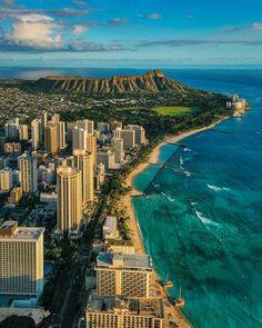 Honolulu Hawaii, Waikiki Beach, Hawaii Usa, Honolulu City, Hawaii Ocean, Aloha Hawaii, Voyage Hawaii, Places To Travel, Places To Visit