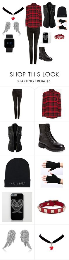 """""""Tough Girl"""" by rjt101 on Polyvore featuring Citizens of Humanity, Adaptation, LE3NO, Seychelles, Valentino, BERRICLE and 1:Face"""