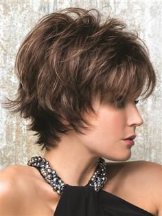 Name Brand Wigs offers quality wigs, hair pieces, hair extensions, and wig care products at discounted prices. We offer human hair and synthetic wigs. Short Hair With Layers, Short Hair Cuts For Women, Rene Of Paris Wigs, Curly Hair Styles, Natural Hair Styles, Short Shag Hairstyles, Party Hairstyles, Trendy Hairstyles, Hairstyles 2016