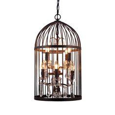 Birdcage Pendant | Lighting | Accessories